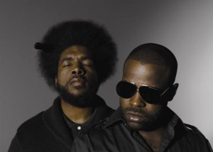 Black Thought and ?uestlove of The Roots