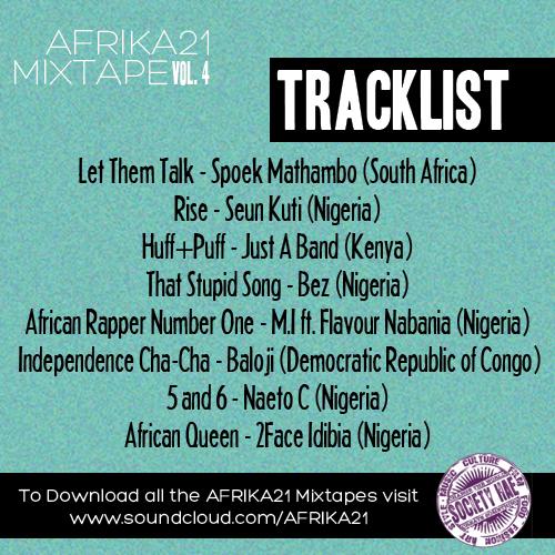 The Afrika 21 Mixtape Vol. 4