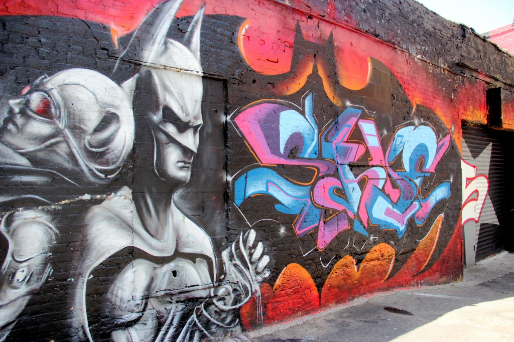 Even Batman gets love at 5 Pointz